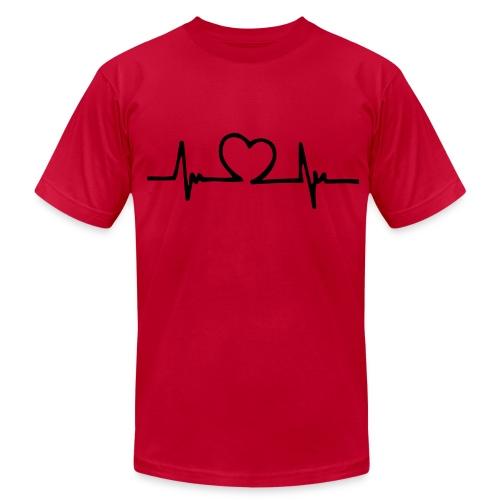 Lover 1 (guy) - Men's Fine Jersey T-Shirt