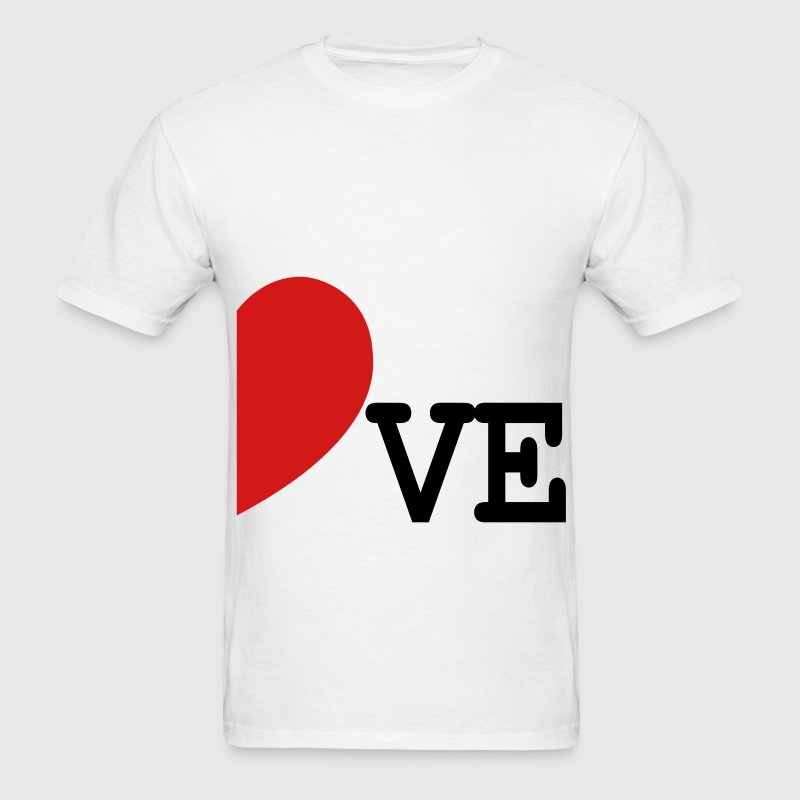 LOVE right SIDE FOR COUPLES ONLY - Men's T-Shirt