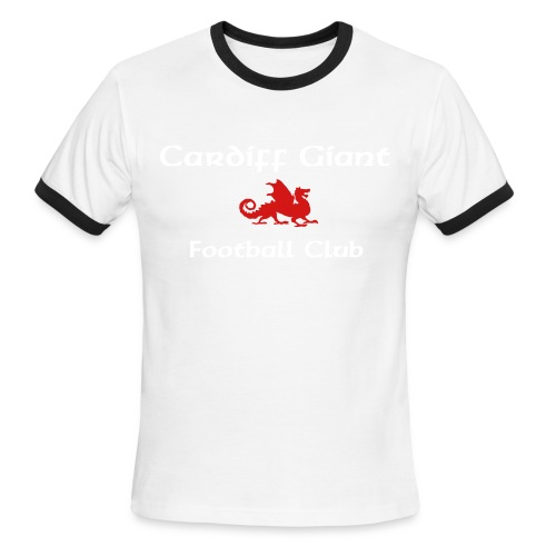 Red Dragon Jersey - Men's Ringer T-Shirt