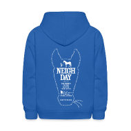 Sweatshirts ~ Kids' Hoodie ~ Kids Neigh Day Hoodie