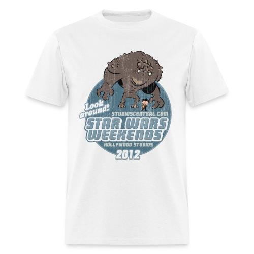 Men's White SWW Shirt - Men's T-Shirt