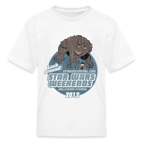 Kid's White SWW Shirt - Kids' T-Shirt