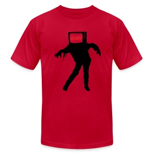 TV Zombie - Men's Fine Jersey T-Shirt