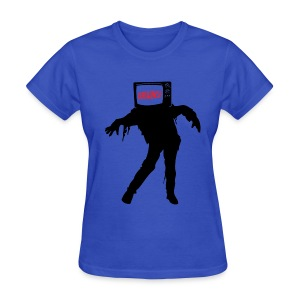 TV Zombie (Women's) - Women's T-Shirt