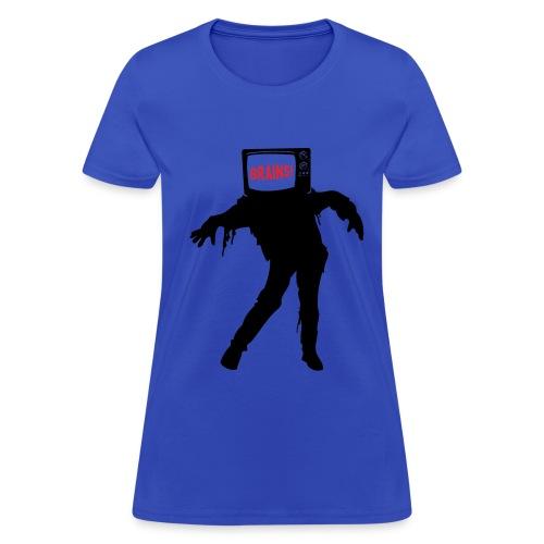 TV Zombie (Women's) - Women's T-Shirt