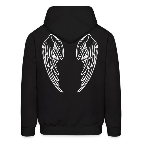 Winged Infinite Pull-Over hoodie - Men's Hoodie