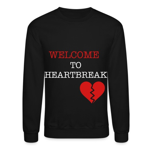heart break - Crewneck Sweatshirt