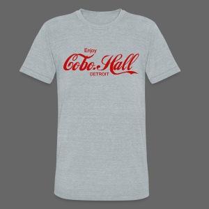 Cobo Hall - Unisex Tri-Blend T-Shirt
