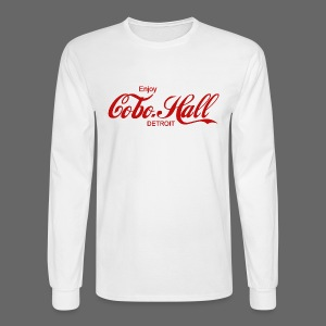 Cobo Hall - Men's Long Sleeve T-Shirt