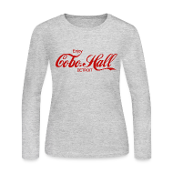 Long Sleeve Shirts ~ Women's Long Sleeve Jersey T-Shirt ~ Cobo Hall