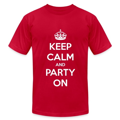 party on - Men's  Jersey T-Shirt