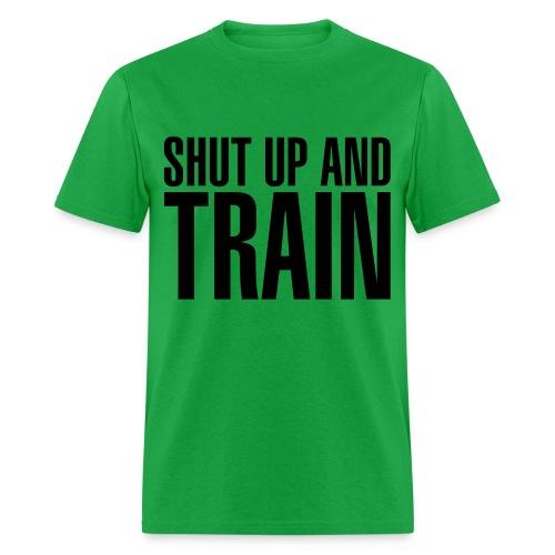 Shut Up Tee (Black Letters) - Men's T-Shirt