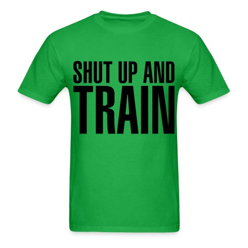 Shut Up Tee (Black Letters) - Men's T-Shirt