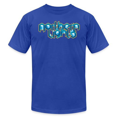 Northern Lights (M) - Men's Fine Jersey T-Shirt