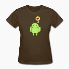 Droid in love 2c Women's T-Shirts
