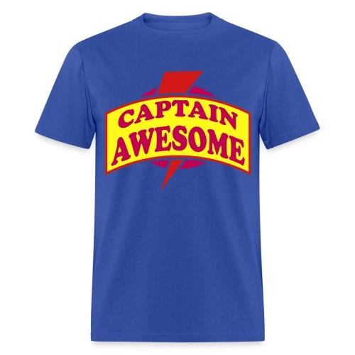 Captain awesome shirt (Men's) - Men's T-Shirt