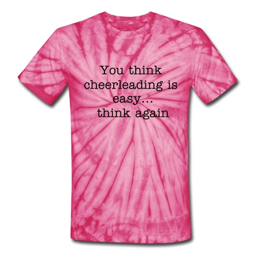 Cheer - Unisex Tie Dye T-Shirt