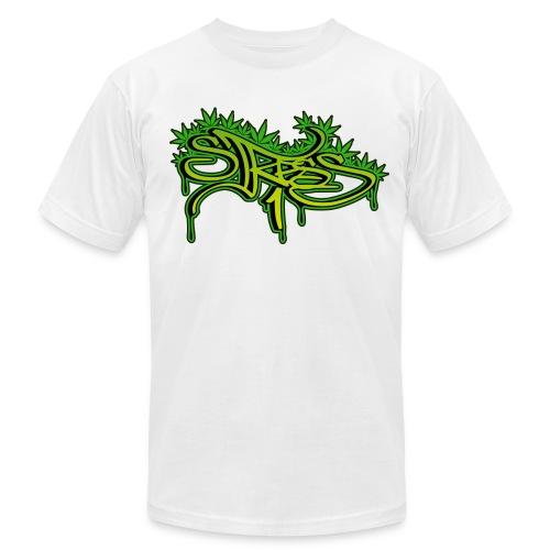 Stress1 Leaf Logo Tee - Men's Fine Jersey T-Shirt