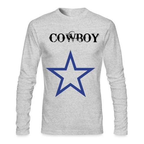 Cowboy's Men's Long Sleeve T-Shirt - Men's Long Sleeve T-Shirt by Next Level