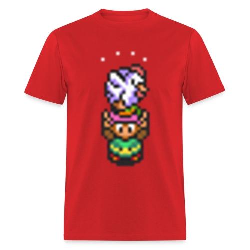 Link and Cuccoo - Men's T-Shirt