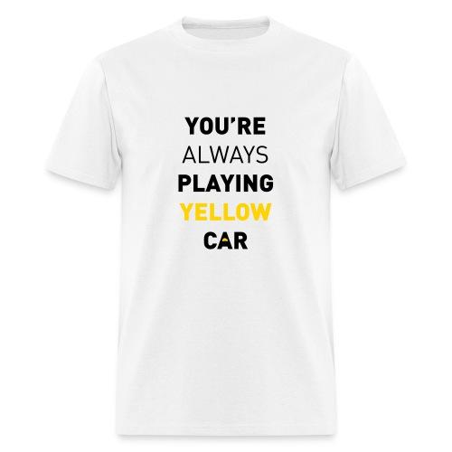 Cabin Pressure - Yellow Car - Men's T-Shirt