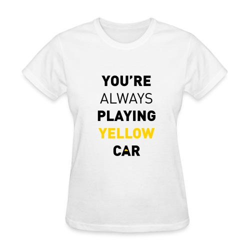 Cabin Pressure - Yellow Car - Women's T-Shirt