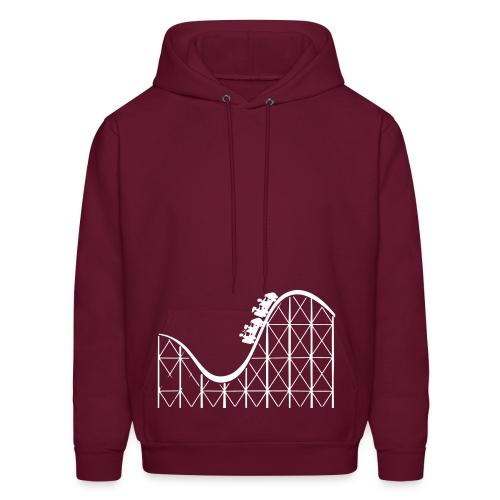 Rollercoaster Hoodie - Men's Hoodie