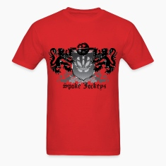 Spoke Jockey logo crest shirt