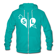 Hoodies ~ Unisex Fleece Zip Hoodie by American Apparel ~ Article 9756169