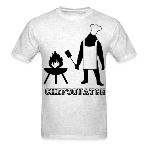 Chefsquatch - Men's T-Shirt
