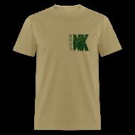 T-Shirts ~ Men's T-Shirt ~ Natural Karate NK Logo (Mens)