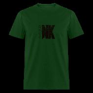T-Shirts ~ Men's T-Shirt ~ Natural Karate Centerline (Mens)