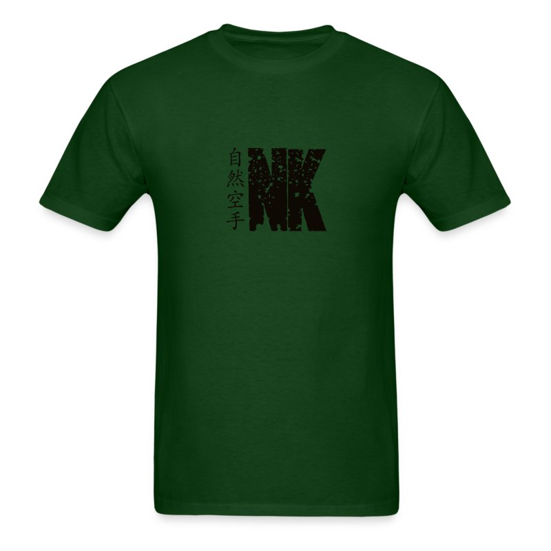 Natural Karate Centerline (Mens) - Men's T-Shirt