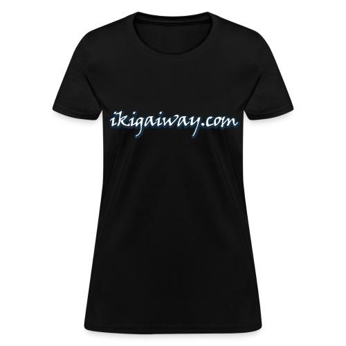 IkigaiWay Logo (Womens) - Women's T-Shirt