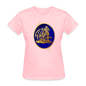 Gold Dragon 2  - Women's T-Shirt