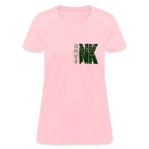 Natural Karate NK Logo (Womens) - Women's T-Shirt