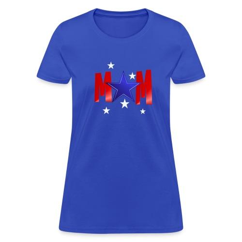 A Blue Star Mom - Women's T-Shirt