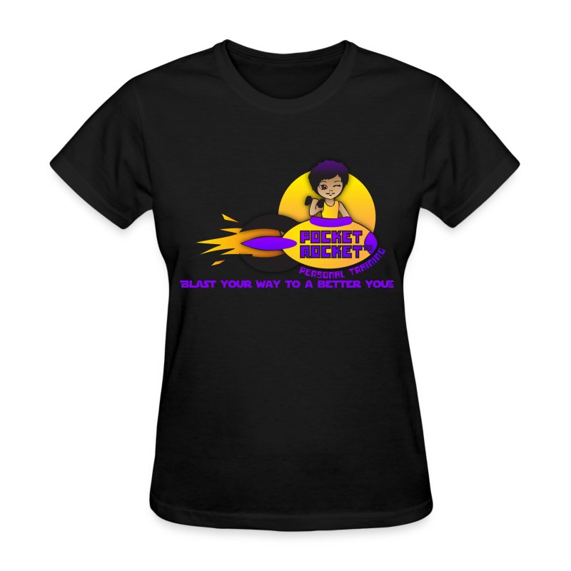 pocketrocketlogob - Women's T-Shirt