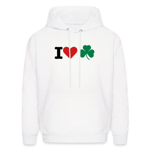I Love Irish - Men's Hoodie