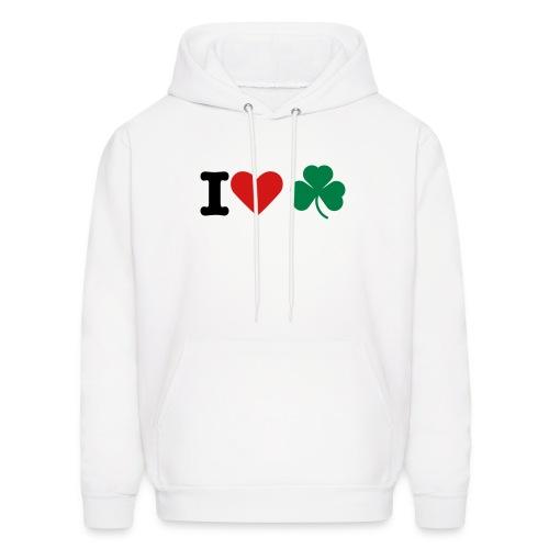 I Love Irish - Men's Hoodie