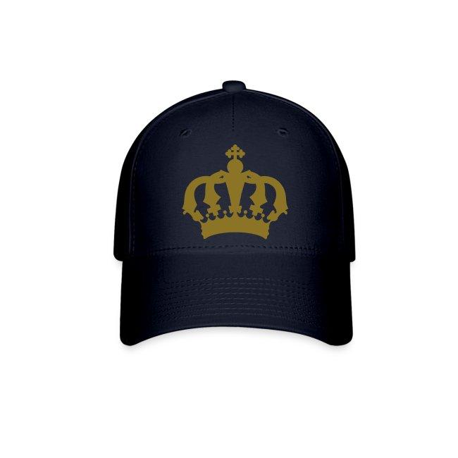 Mens Royal Crown Baseball Cap.
