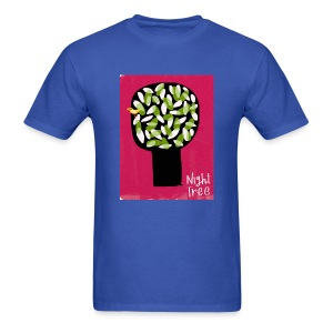 Red Nitght Tree - Mens shirt - Men's T-Shirt