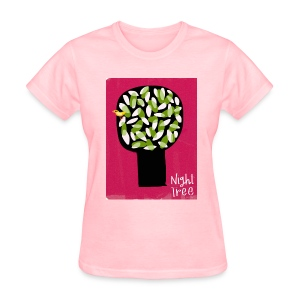 Red Night Tree - Womens Shirt - Women's T-Shirt
