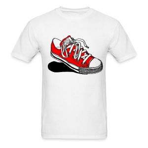 Red Converse Sneaker - Mens - Men's T-Shirt