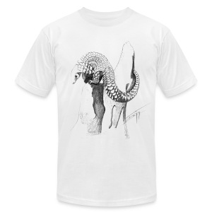 Pangolin - Men's T-Shirt by American Apparel