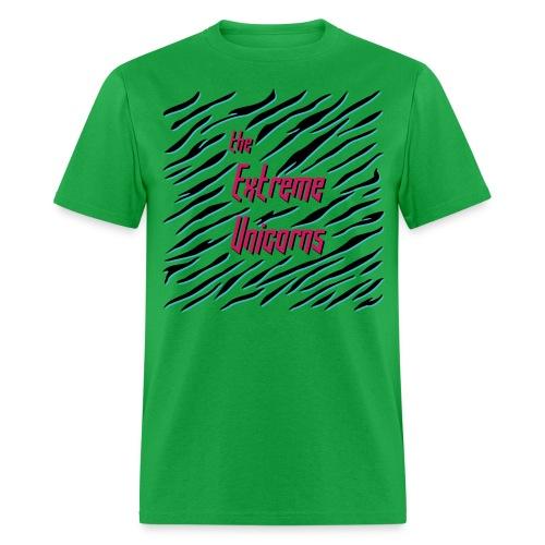 men's green Extreme zebra shirt - Men's T-Shirt