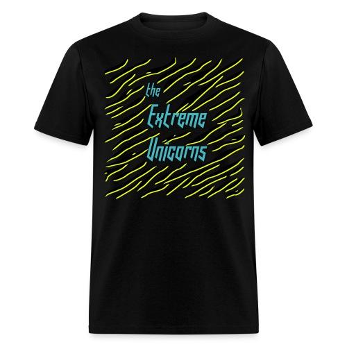 men's black Extreme zebra shirt - Men's T-Shirt
