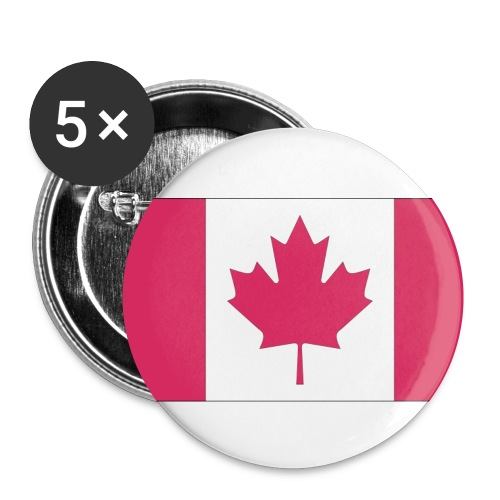 5 Pack of Pins - Canada - Buttons small 1'' (5-pack)