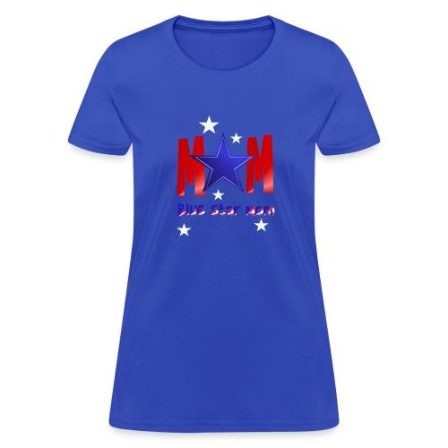 Blue Star Mom-Lettered - Women's T-Shirt