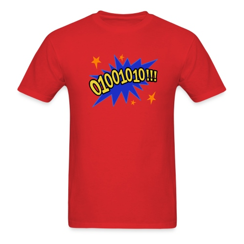 01001010!!! - Men's T-Shirt